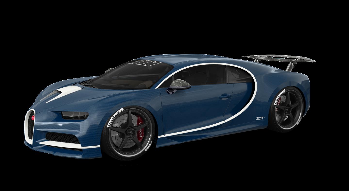 Bugatti Chiron купе