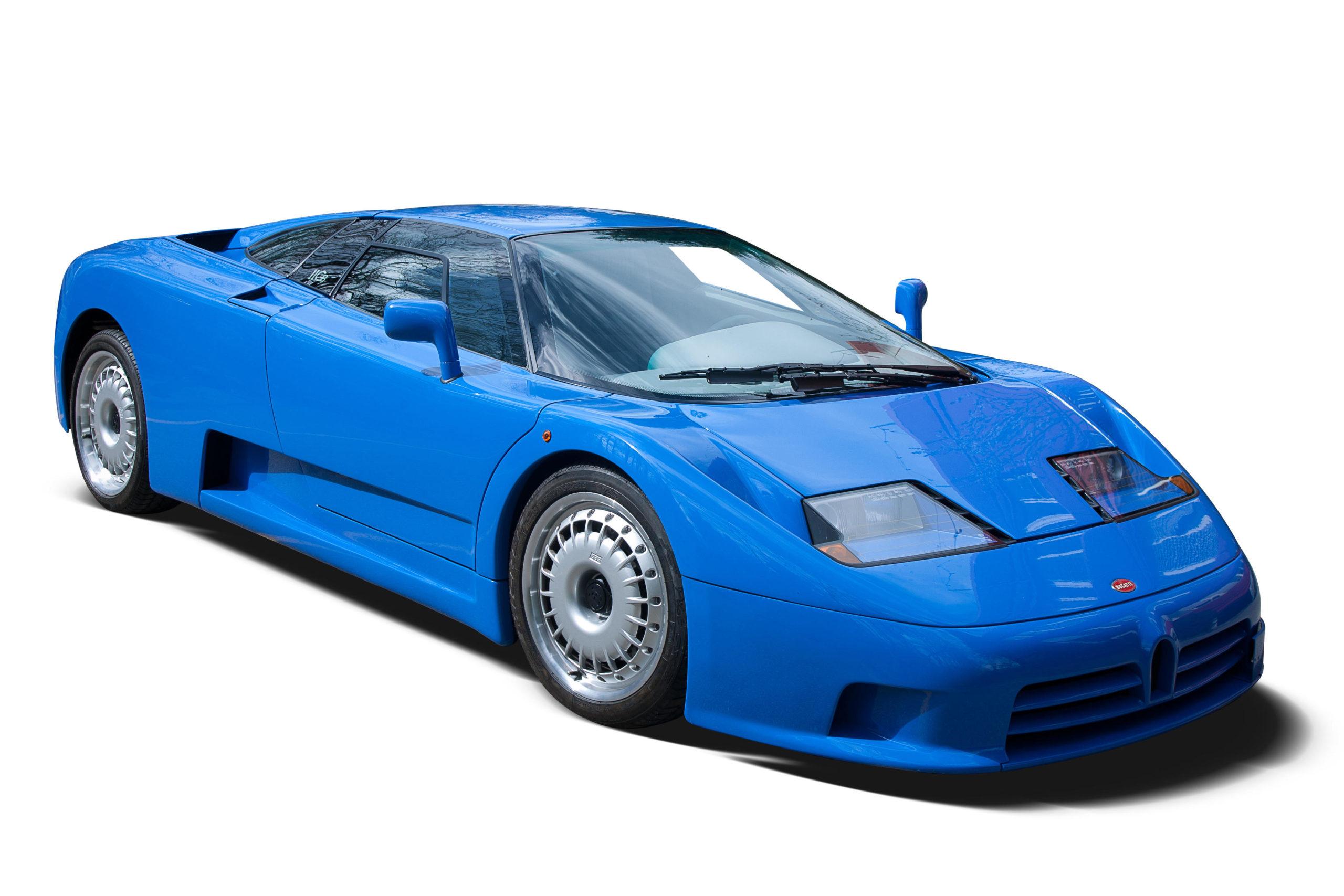 Bugatti EB 110 купе
